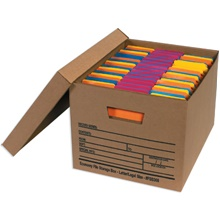 Economy File Storage Boxes with Lids