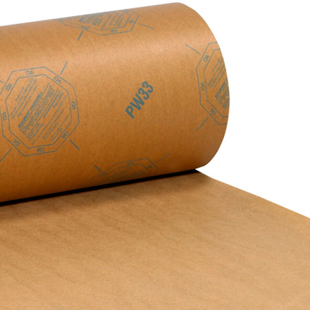 VCI Paper - 35 lb. Waxed Industrial Rolls